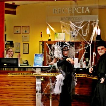 Recepcia Halloween Wellness Hotel Patince