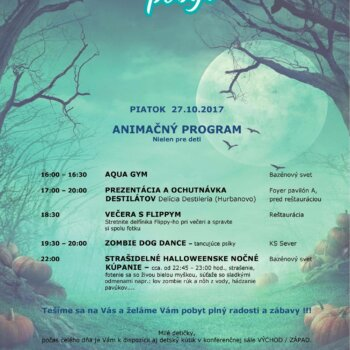 Halloweensky pobyt 2017 - Wellness Hotel Patince