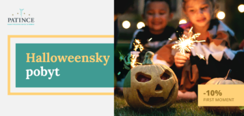 Halloweensky pobyt - First moment - Wellness Hotel Patince
