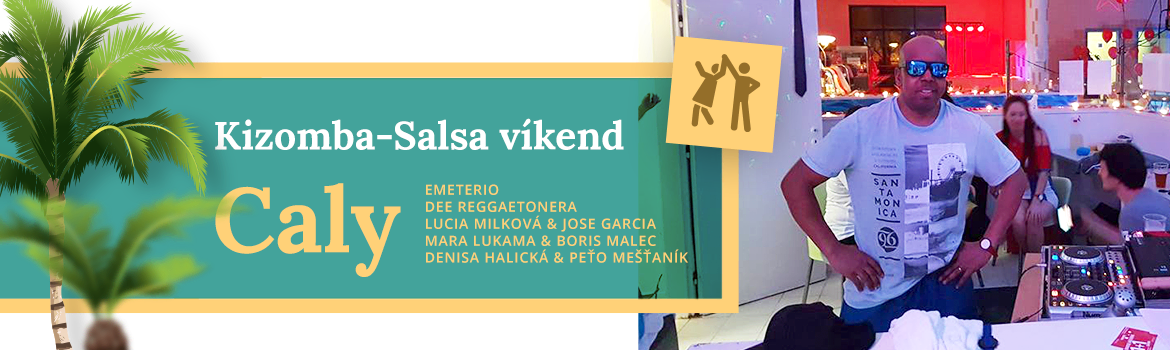 Salsa víkend Caly vo Wellness Hotel Patince